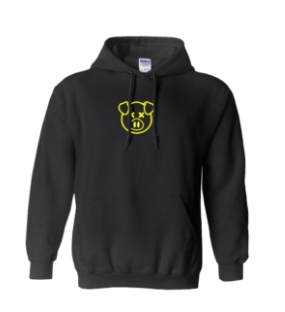 Yellow Piggy Hoodies Pullover – Uni-Sex